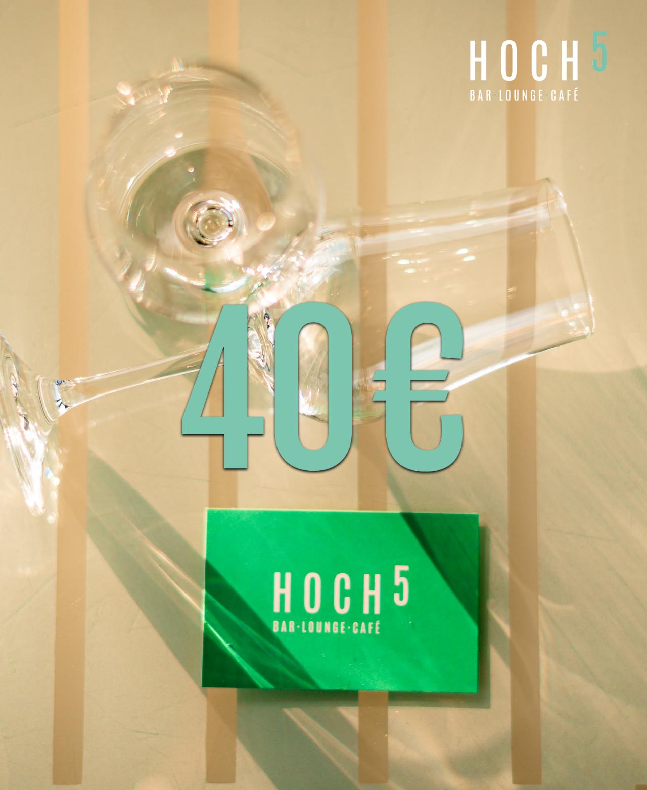 Wertgutschein – 40€ (8 Bingolose)