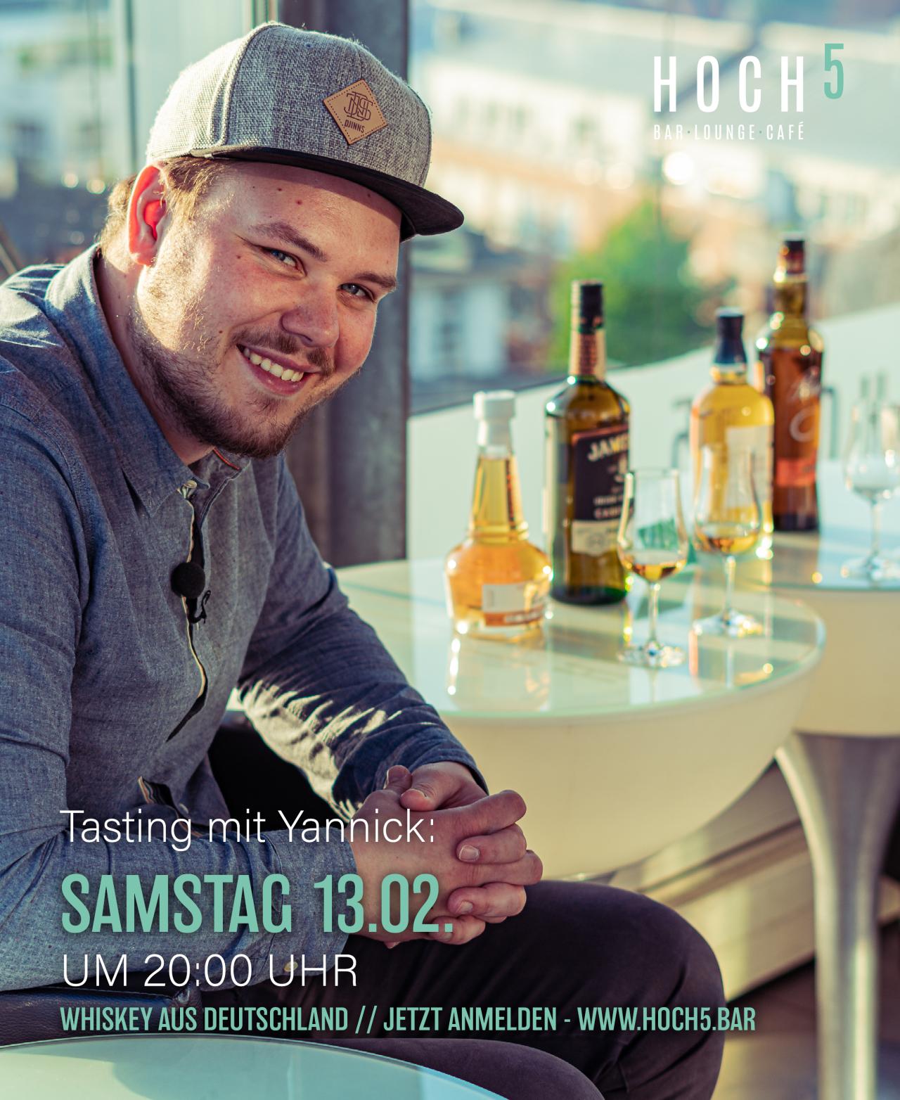 Tasting Mit Yannick – Whiskey Aus Deutschland Inkl. Tasting-Glas *BASIC*