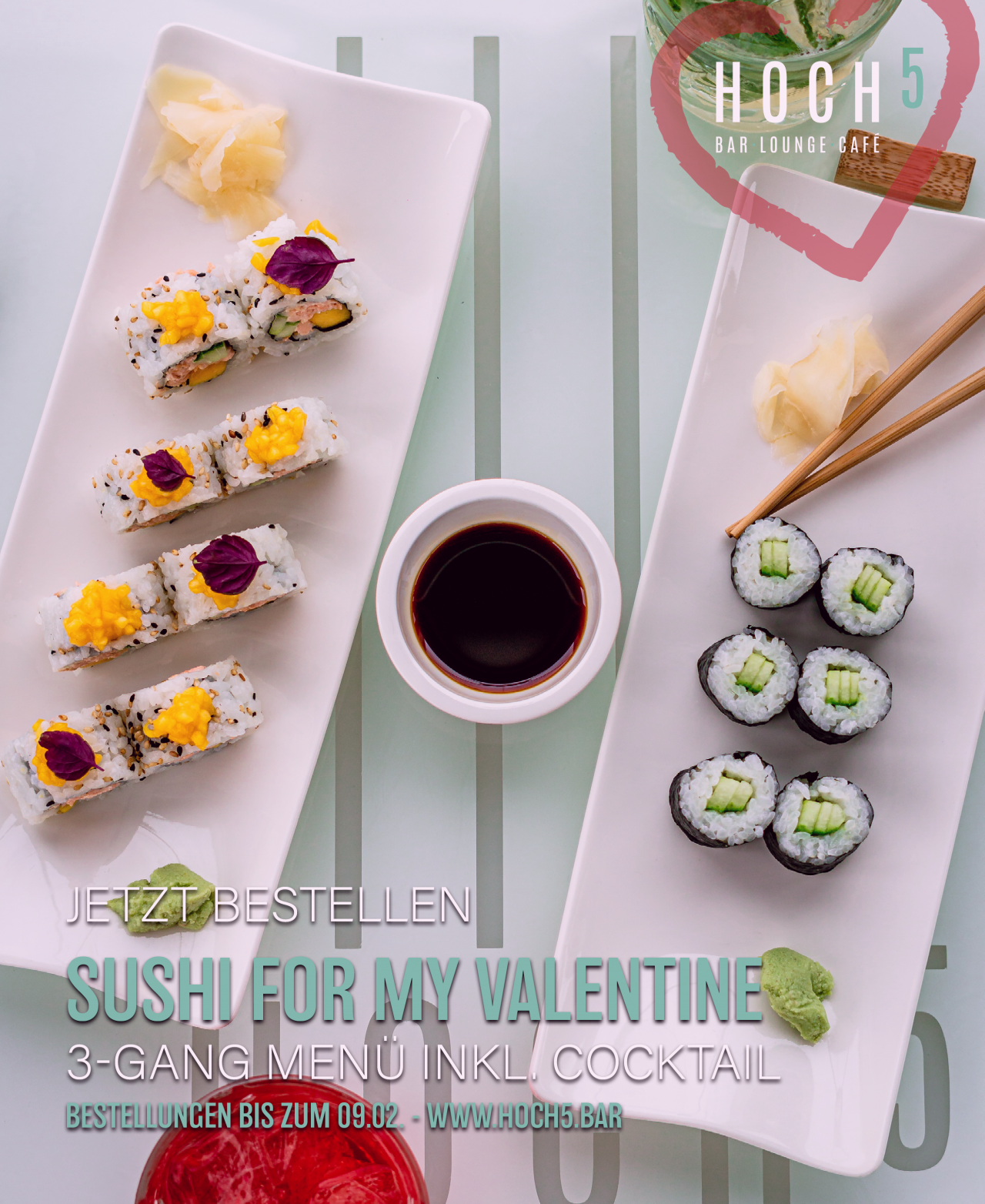 Sushi For My Valentine – Cosmopolitan